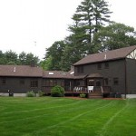 Certainteed roof and cedar clap board in Wrentham, Ma