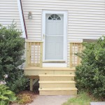 Front entry Deck in Foxboro, Ma