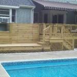 Mansfield pool deck