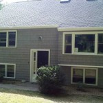 New Ceratinteed roof and Certainteed cedar impressions vinyl siding