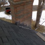 New Certainteed Moire Black roof and new chimney lead install
