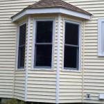 New windows and heritage cream Certainteed siding