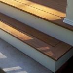 Pacific teak stairs
