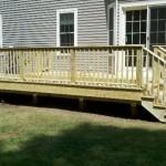Pt deck in Attleboro, Ma