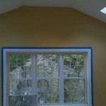Sun room addition paint