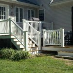 Timbertech composited deck in Attleboro, Ma 2