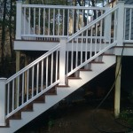 Wrentham composite stairs