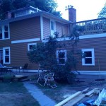 addition,siding and roof top deck in North attleboro, Ma