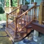 brazilian walnut stairs