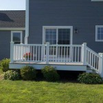 certainteed vinyl siding and timber tech composite deck in Bridgewater, Ma