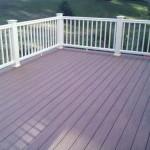 composite deck in Foxboro, Ma