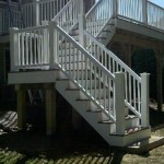 finished composite stairs