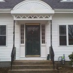 new windows,vinyl siding,front entry way in North Attleboro