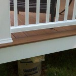 picture framed pacific teak deck
