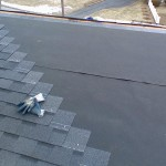 properly stepped shingled