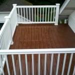 roof top composite deck