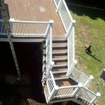 timbertech composite deck in Canton, Ma