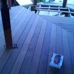 walnut decking