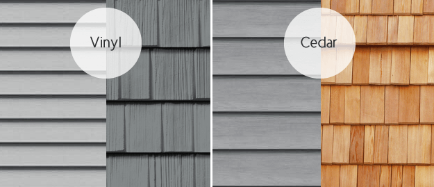Images Of Vinyl Siding Vs Wood Cost